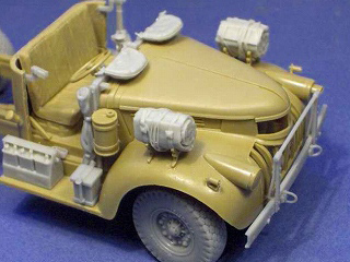 1/35 Cab detail set for Tamiya LRDG Chevrolet 30 cwt