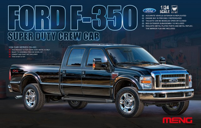 1/24 フォード F-350 SUPER DUTY Crew Cab