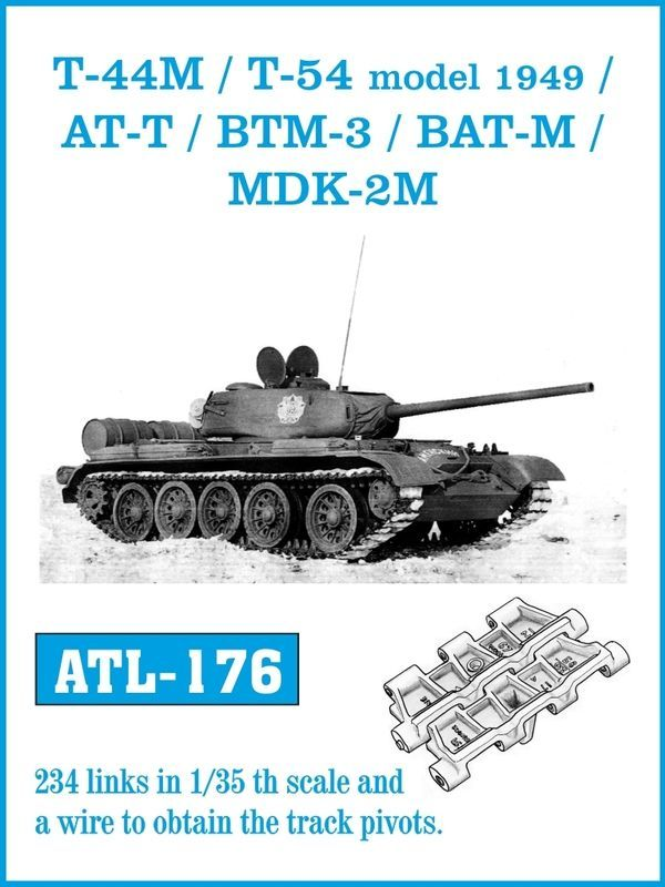 1/35 T-44M/T-54 1949年型/AT-T/BTM-3/BAT-M/MDK2-M