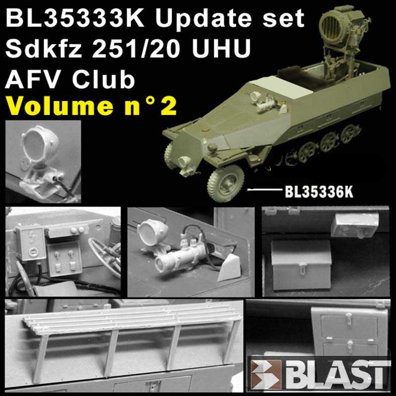 1/35 Sd.Kfz.251/20 UHU アップデートセット Vol.2