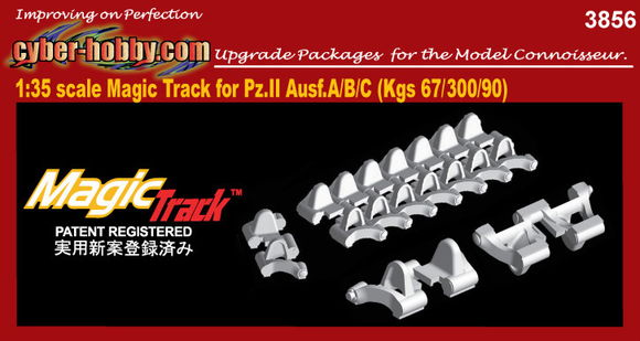 1/35 Magic Track for Pz.II Ausf.A/B/C (Kgs 67-300/90)