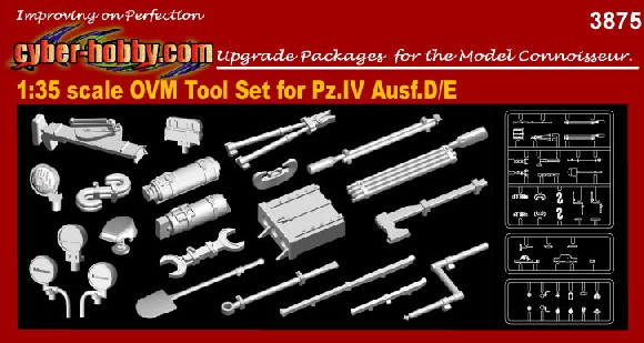 1/35 OVM Tool Set for Pz.IV Ausf.D/E