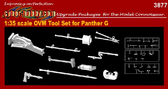 1/35 OVM Tool Set for Panther G