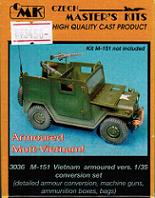 1/35 M-151 Vietnam armoured vers. conversion set