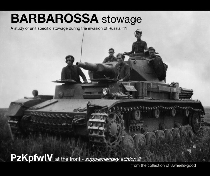 BARBAROSSA stowage. A study of unit specific stowage during the