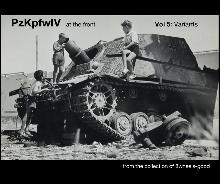 PzKpfw IV at the front Vol 5: Variants
