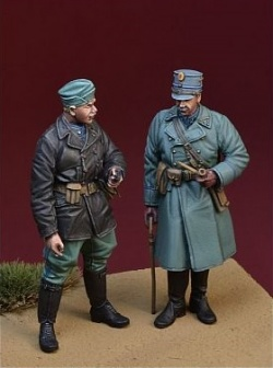 1/35 WWII オランダ陸軍将校と下士官セット オランダ1940年