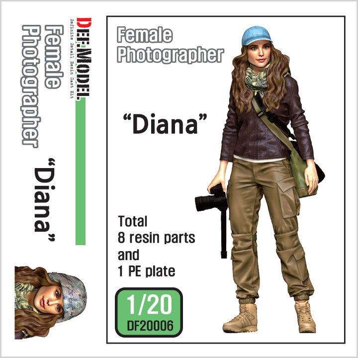 "1/20 Female Photographer ""Diana"""