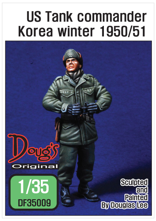 1/35 US Tank commander Koera winter 1950/51