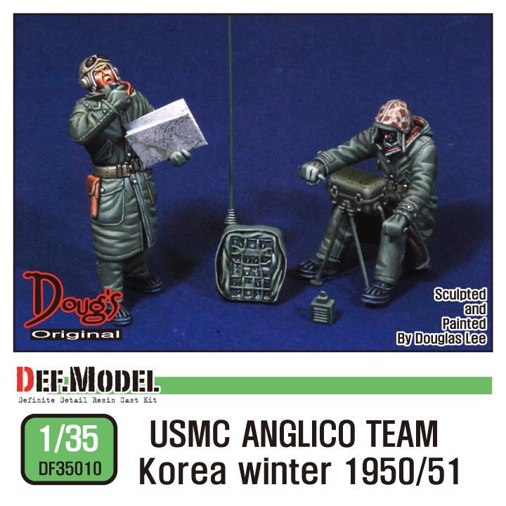 1/35 USMC ANGLICO Team Koera winter 1950/51