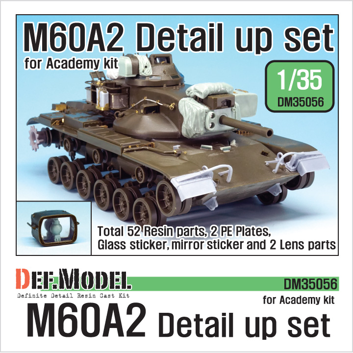 1/35 US M60A2 Detail up set (for Academy kit)