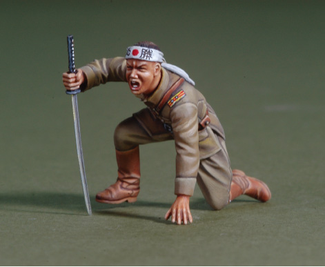 1/35 WWII Japanese Officer 'Banzai Attack'