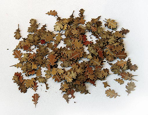 1/35 Leaves - oak