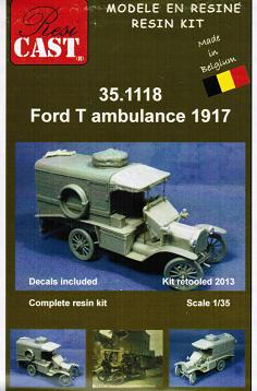 1/35 Ford T ambulance 1917