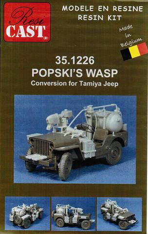 1/35 POPSKI`S WASP Conversion for Tamiya Jeep